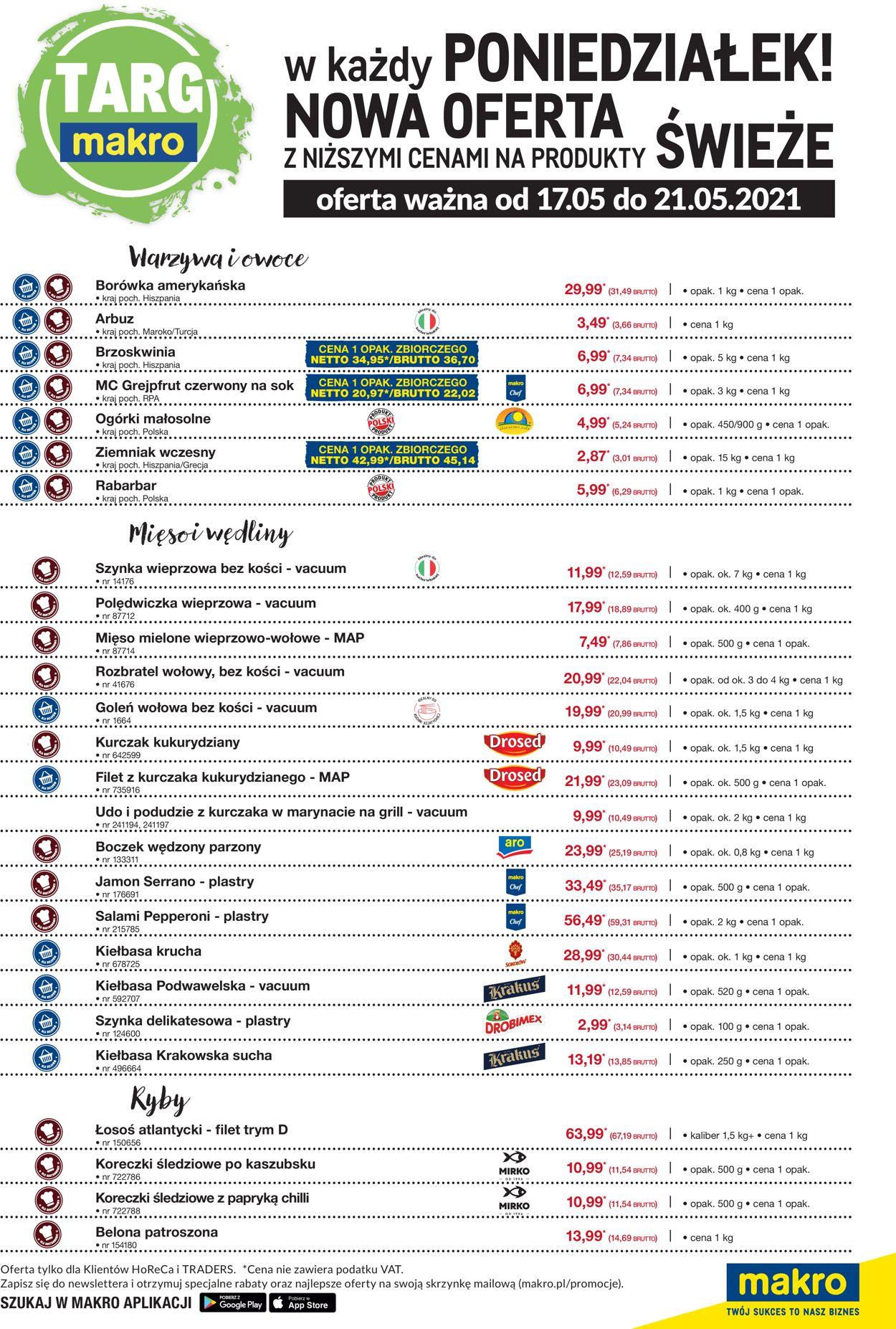 Gazetka promocyjna Makro - 17.05-21.05.2021 (Strona 2)