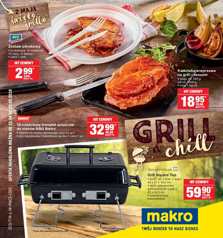 Gazetka promocyjna Makro - 22.04-06.05.2019