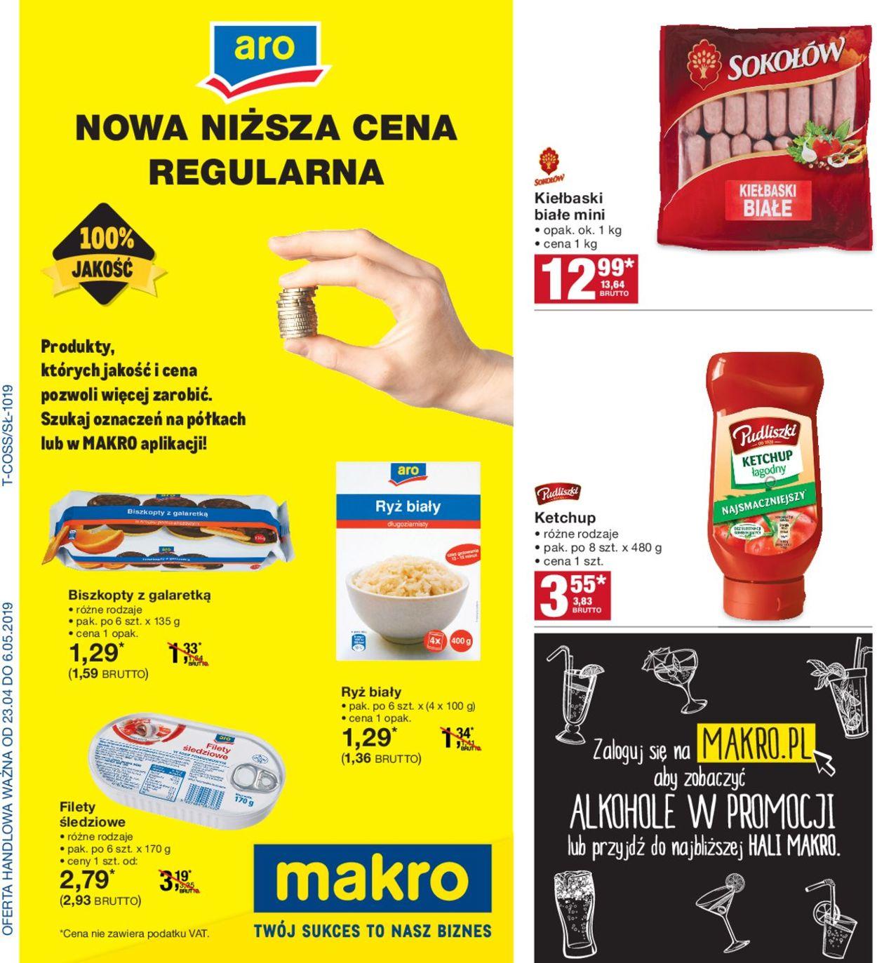 Gazetka promocyjna Makro - 23.04-06.05.2019