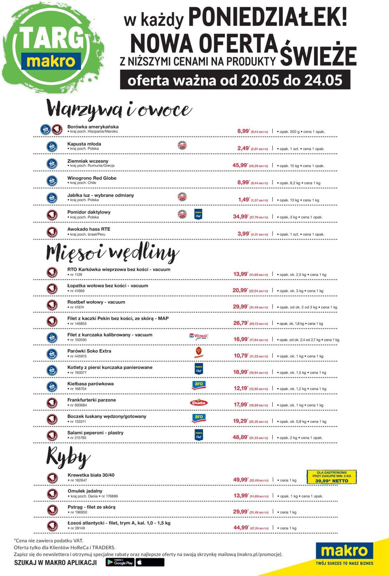 Gazetka promocyjna Makro - 20.05-24.05.2019