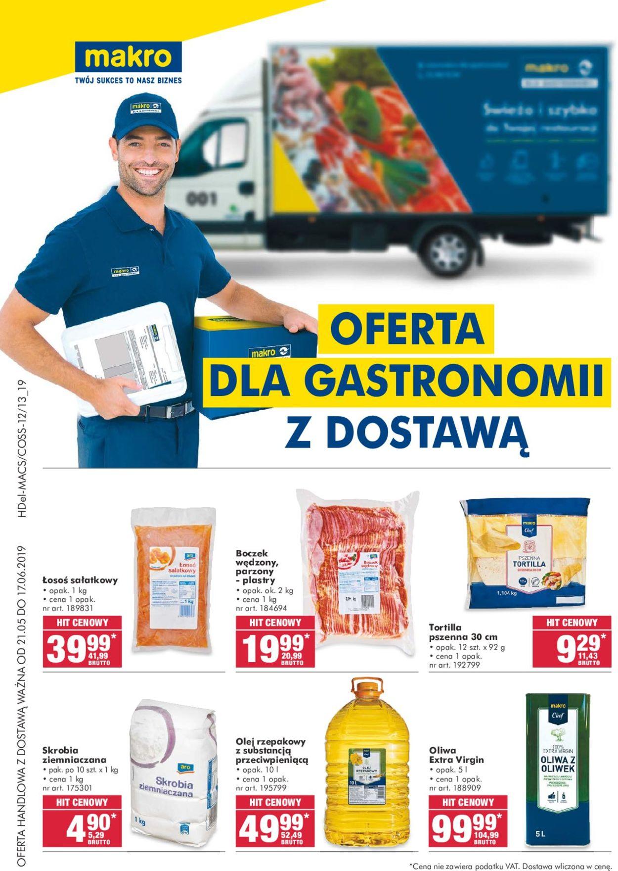Gazetka promocyjna Makro - 21.05-17.06.2019