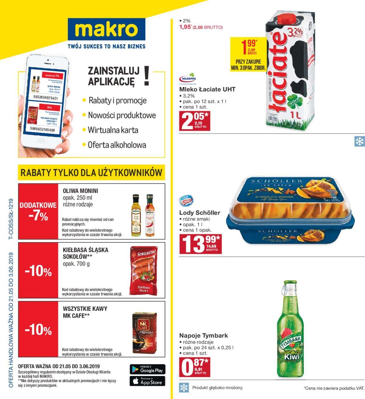 Gazetka promocyjna Makro - 21.05-03.06.2019