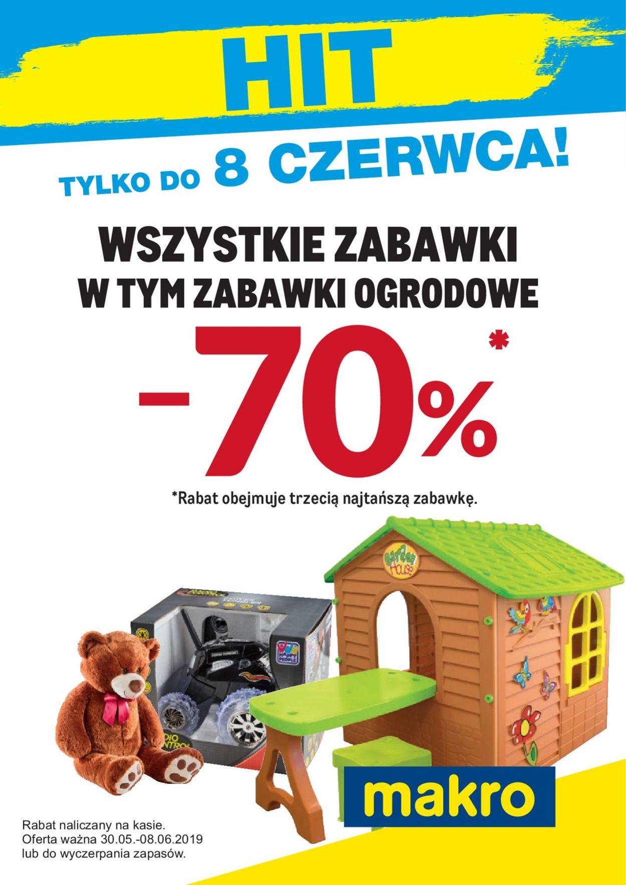 Gazetka promocyjna Makro - 30.05-08.06.2019