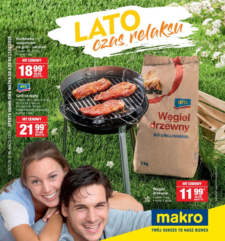 Gazetka promocyjna Makro - 04.06-17.06.2019