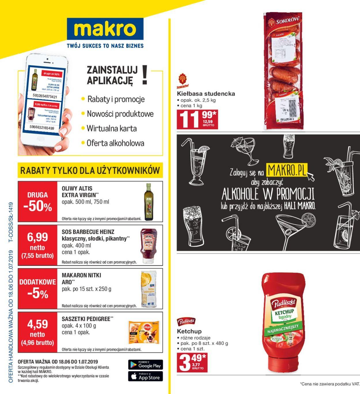 Gazetka promocyjna Makro - 18.06-01.07.2019