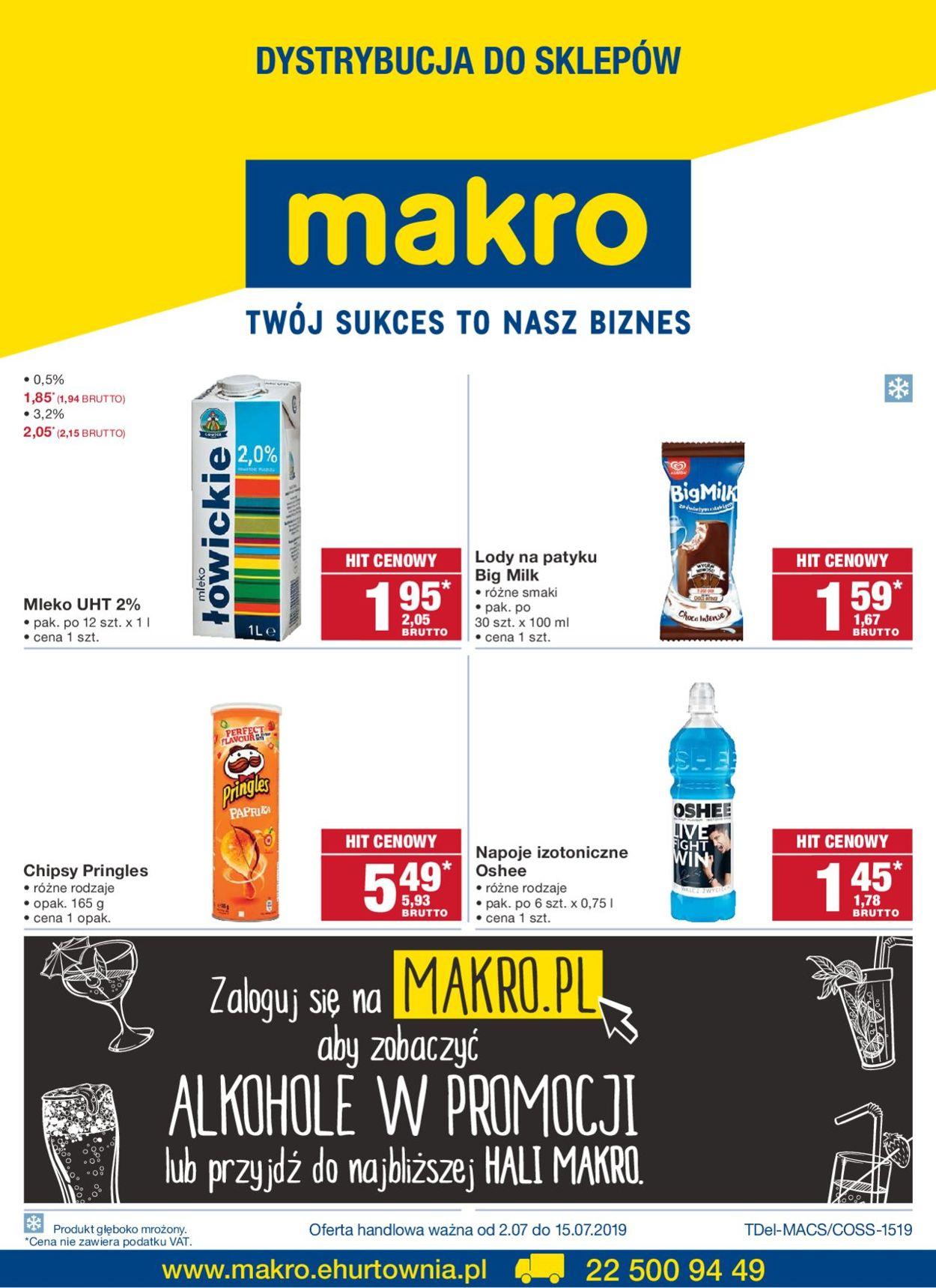 Gazetka promocyjna Makro - 02.07-15.07.2019