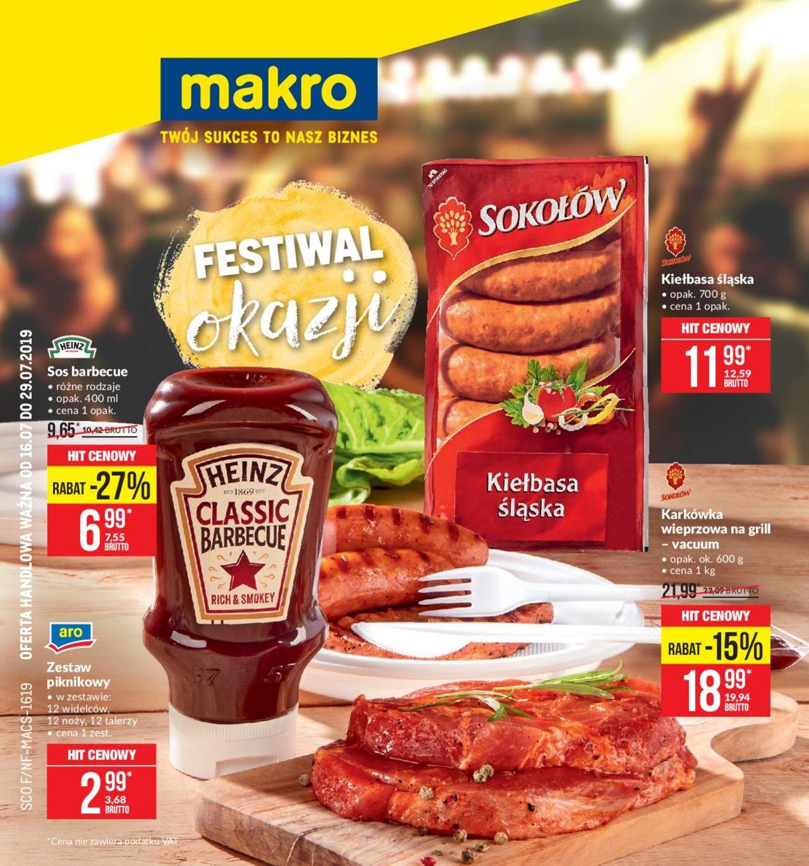 Gazetka promocyjna Makro - 16.07-29.07.2019