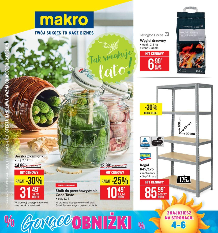 Gazetka promocyjna Makro - 30.07-12.08.2019