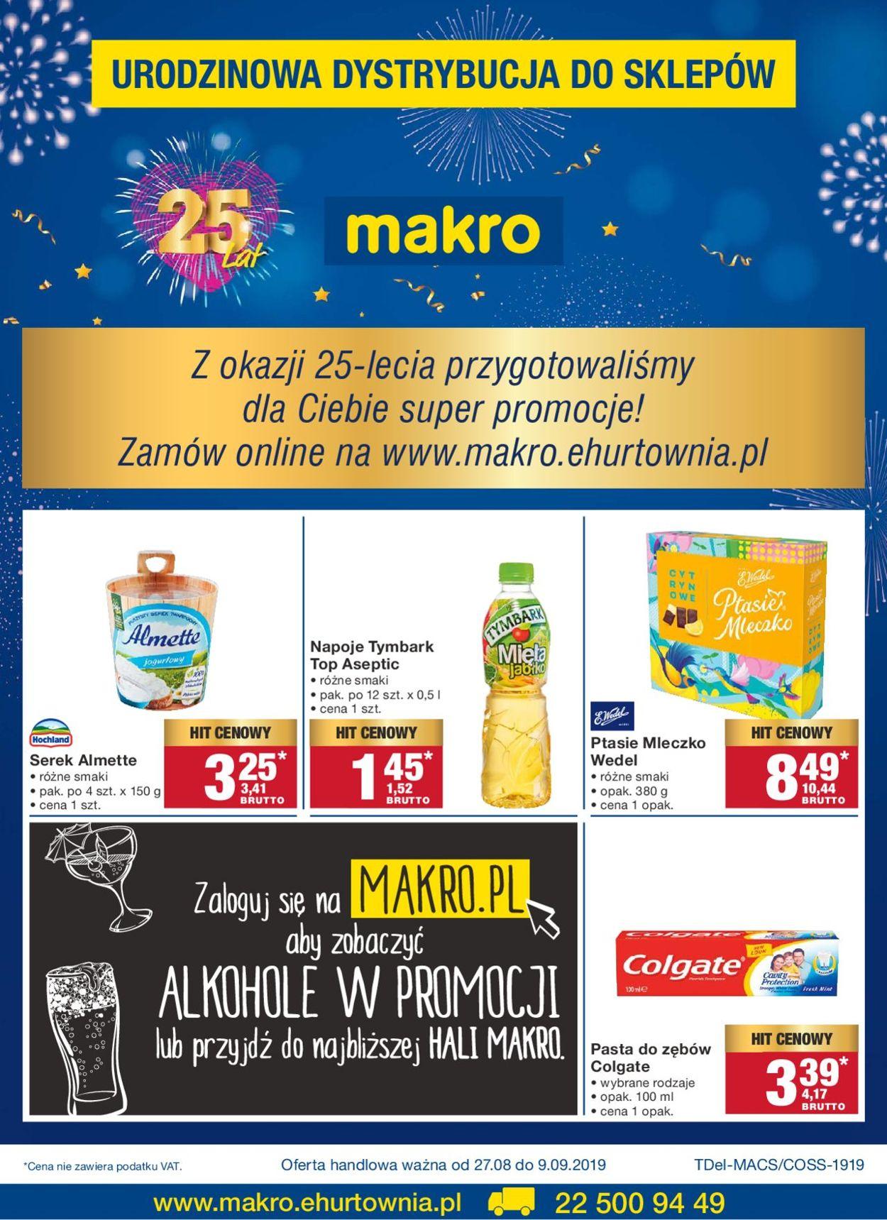 Gazetka promocyjna Makro - 27.08-09.09.2019