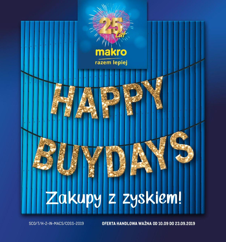 Gazetka promocyjna Makro - 10.09-23.09.2019