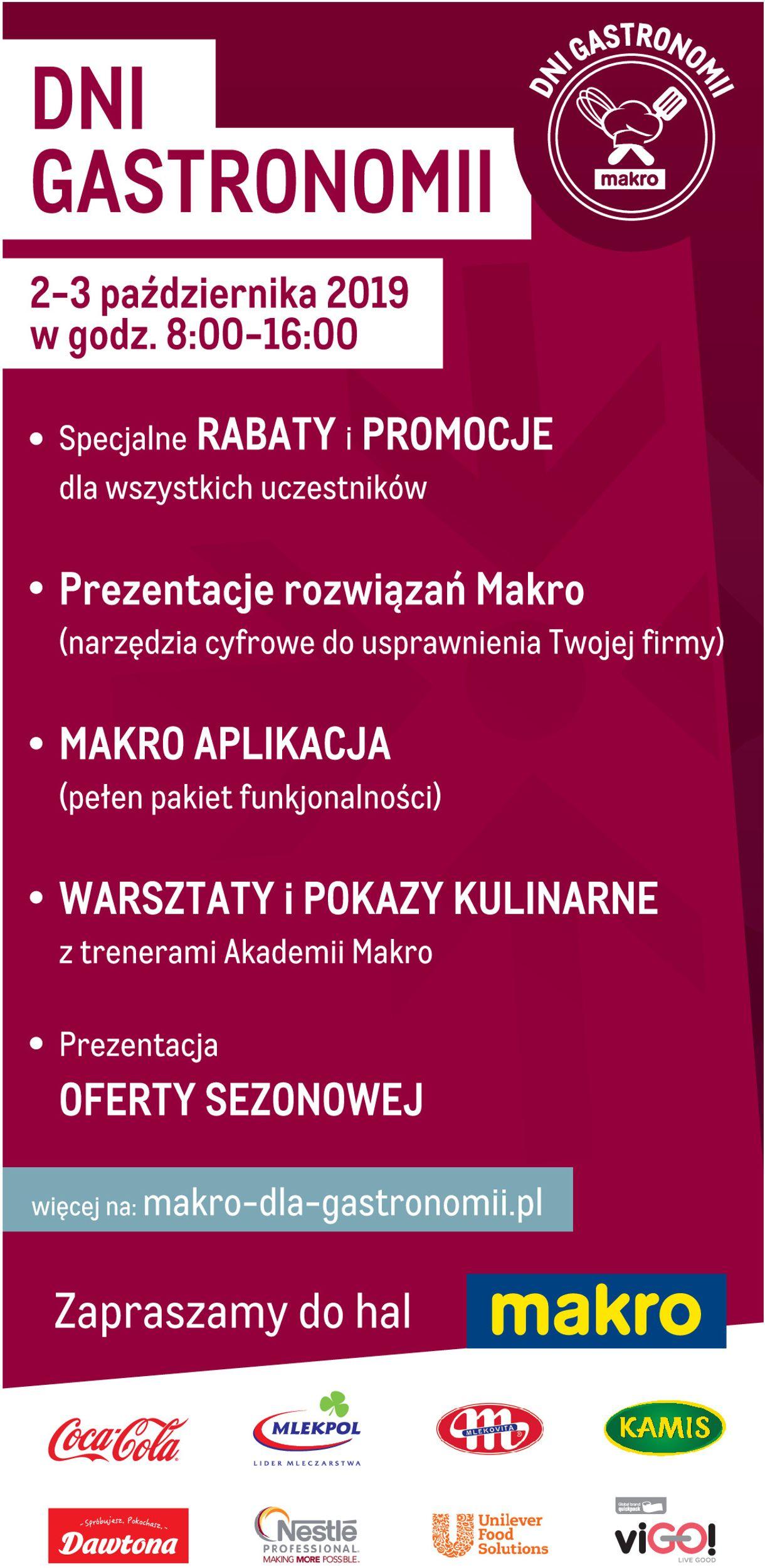 Gazetka promocyjna Makro - 02.09-03.10.2019