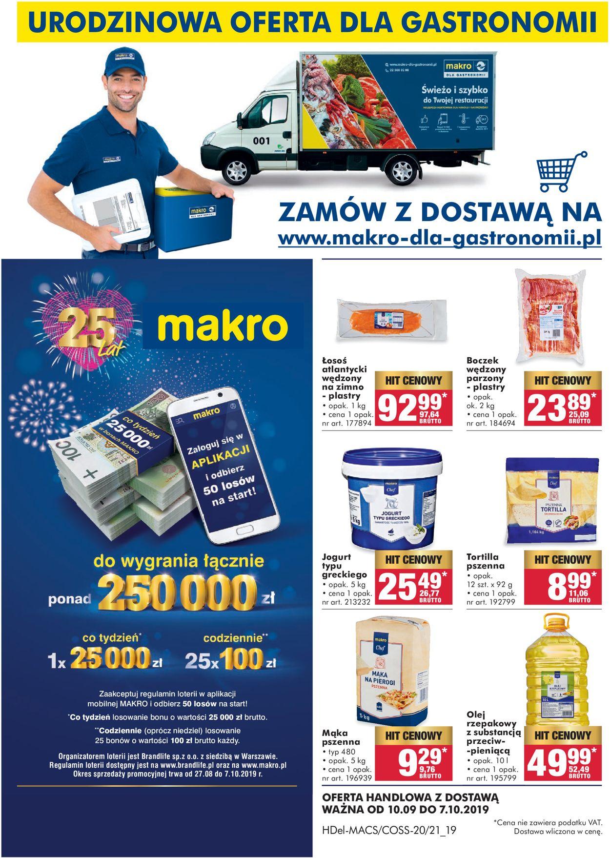 Gazetka promocyjna Makro - 10.09-07.10.2019
