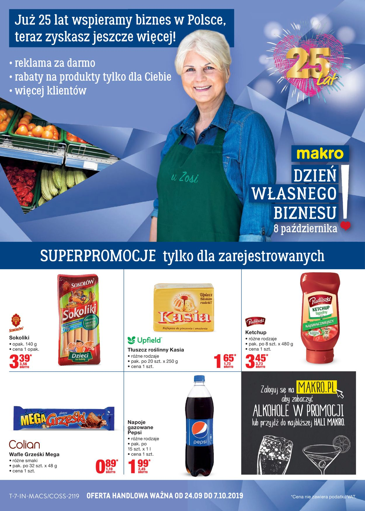 Gazetka promocyjna Makro - 24.09-07.10.2019