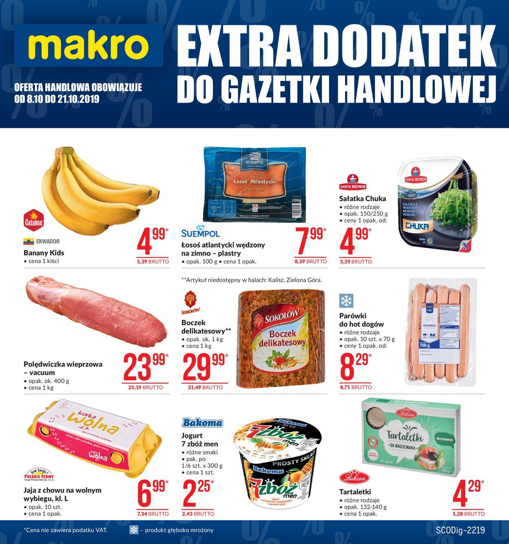 Gazetka promocyjna Makro - 08.10-21.10.2019