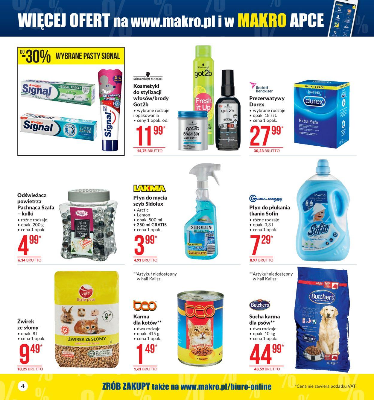 Gazetka promocyjna Makro - 08.10-21.10.2019 (Strona 4)