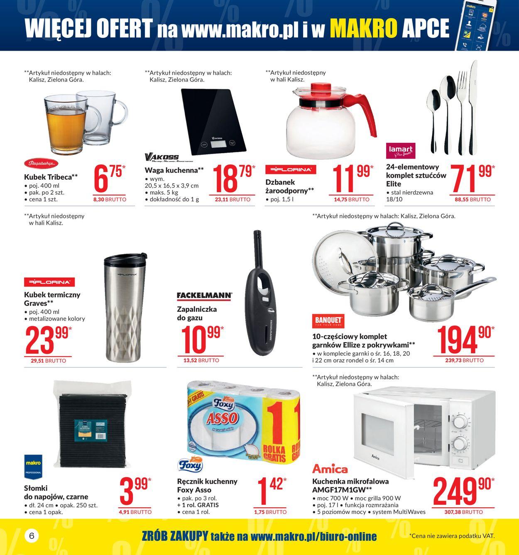 Gazetka promocyjna Makro - 08.10-21.10.2019 (Strona 6)