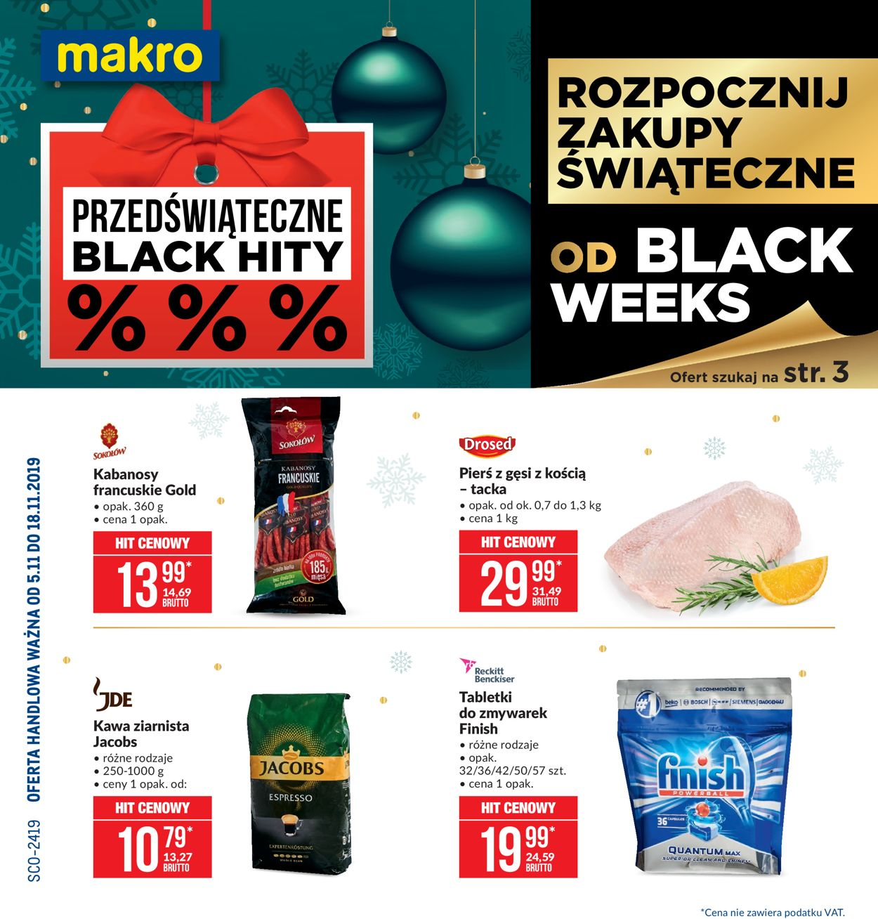 Gazetka promocyjna Makro - Black Weeks 2019 - 05.11-18.11.2019