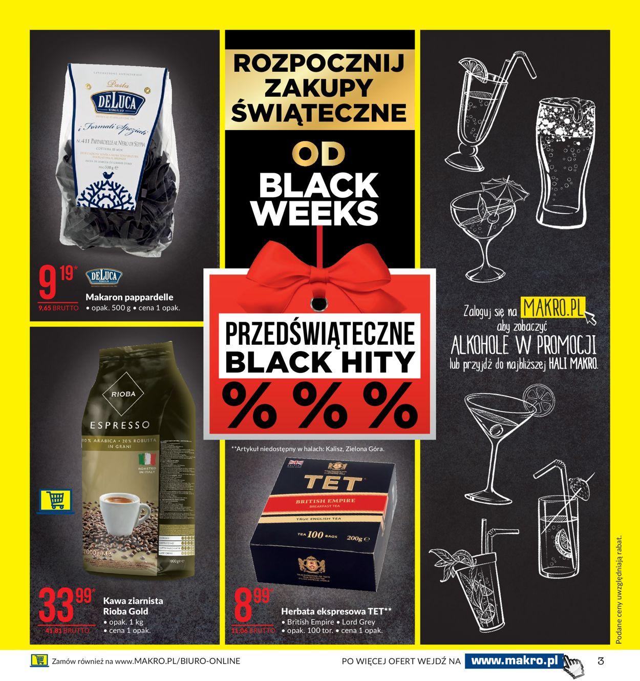 Gazetka promocyjna Makro - Black Weeks 2019 - 05.11-18.11.2019 (Strona 3)