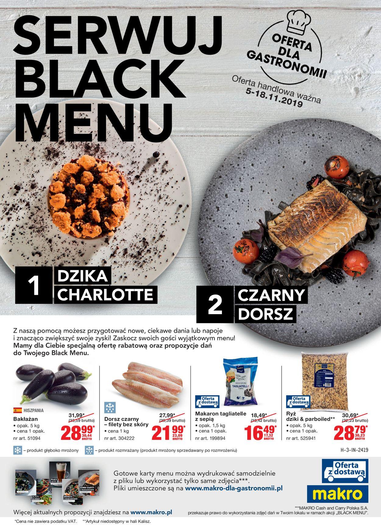 Gazetka promocyjna Makro - Black Friday 2019 - 05.11-18.11.2019