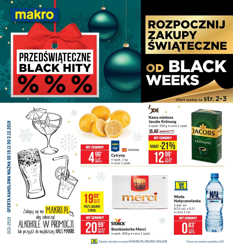 Gazetka promocyjna Makro - Gazetka Black Week 2019 - 19.11-02.12.2019