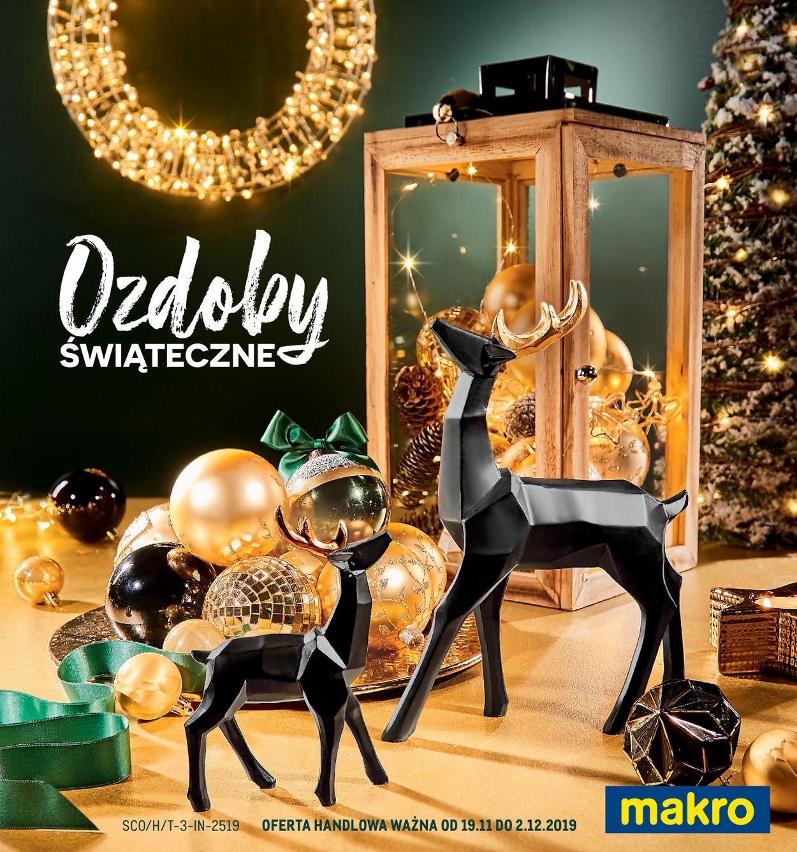 Gazetka promocyjna Makro - Gazetka Świąteczna 2019 - 19.11-02.12.2019