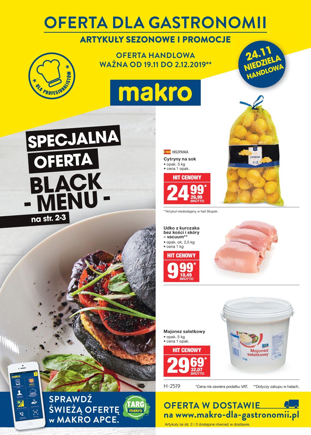 Gazetka promocyjna Makro - 20.11-02.12.2019