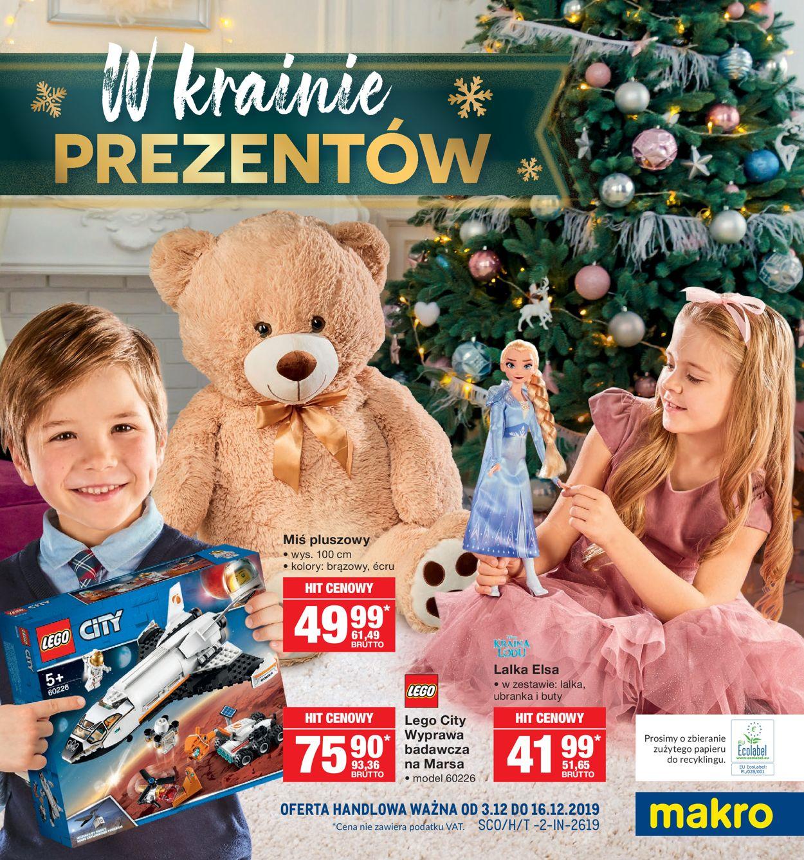 Gazetka promocyjna Makro - Gazetka Świąteczna 2019 - 03.12-16.12.2019