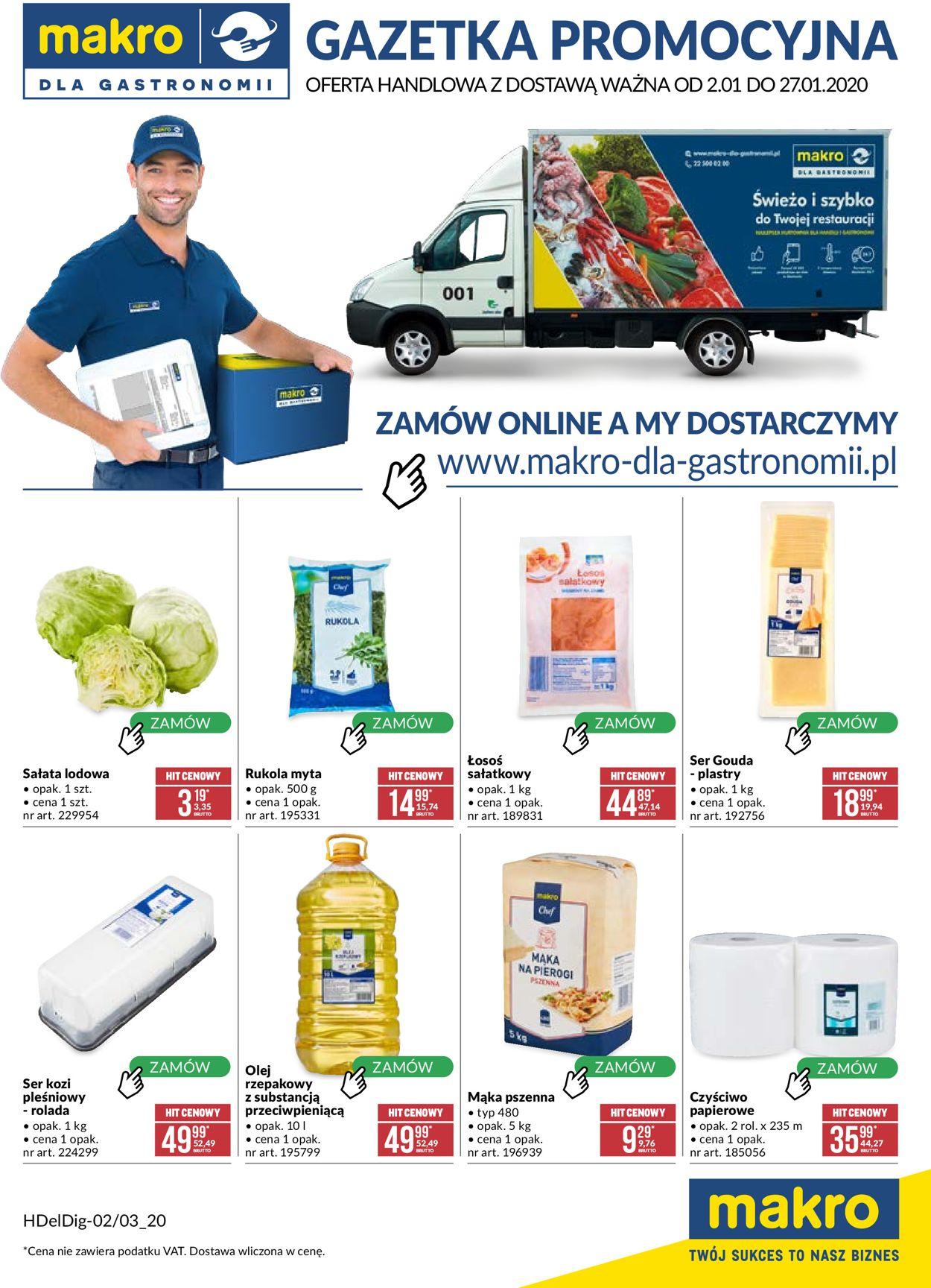 Gazetka promocyjna Makro - 02.01-27.01.2020