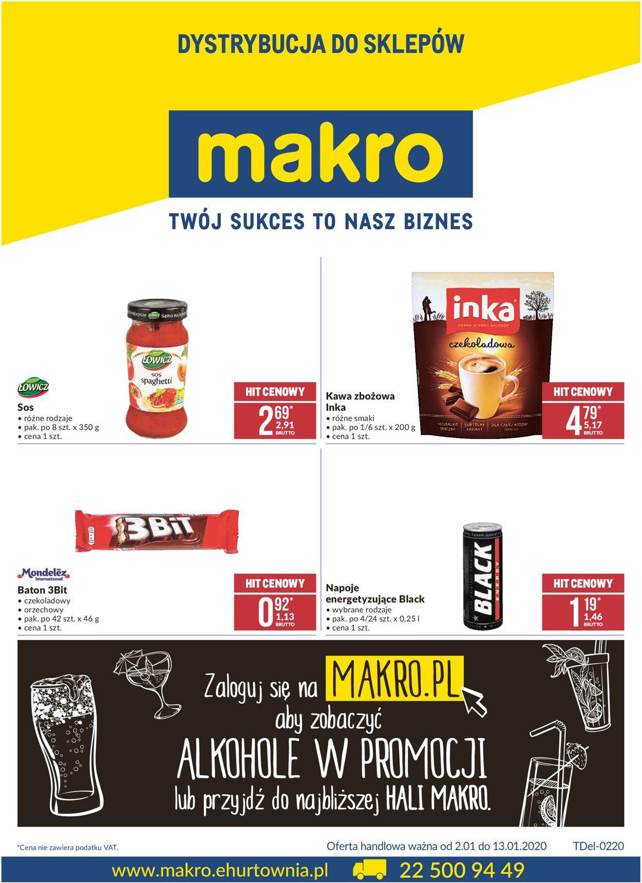 Gazetka promocyjna Makro - 02.01-13.01.2020