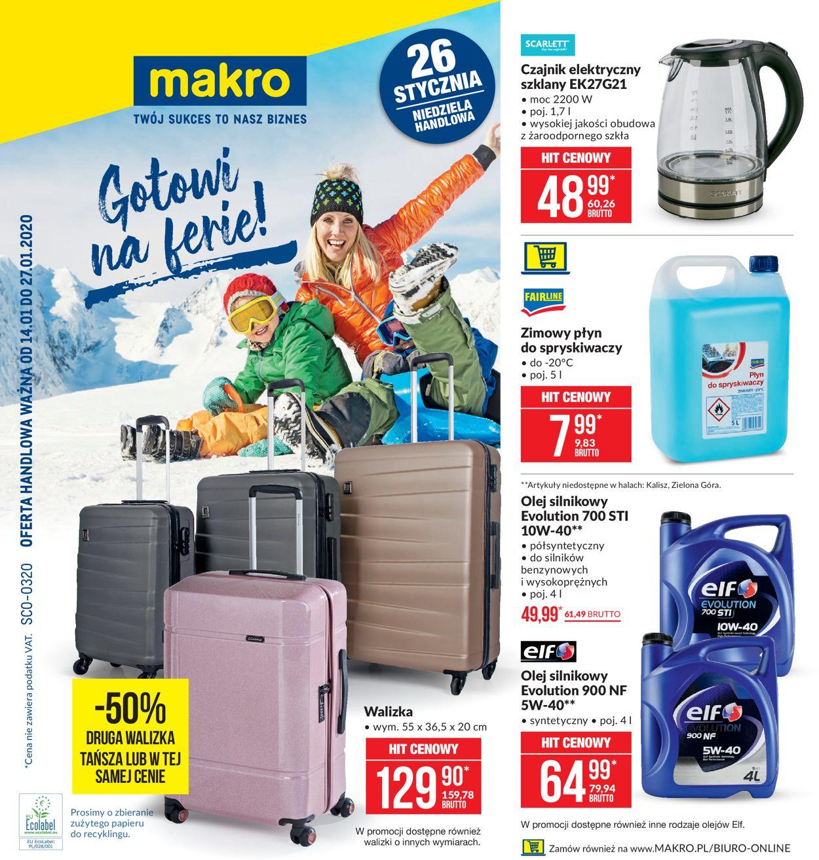 Gazetka promocyjna Makro - 14.01-27.01.2020