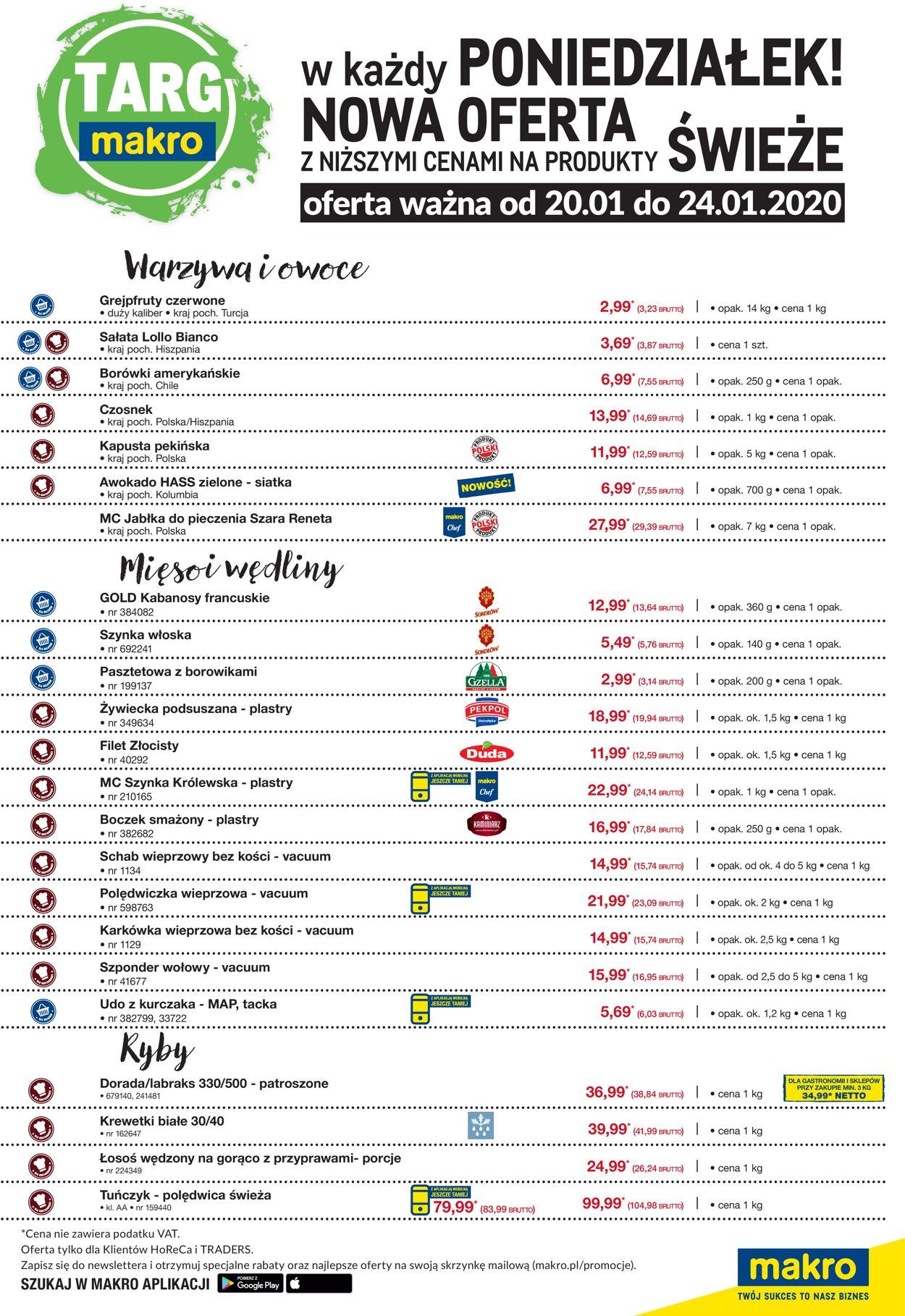 Gazetka promocyjna Makro - 20.01-24.01.2020 (Strona 2)