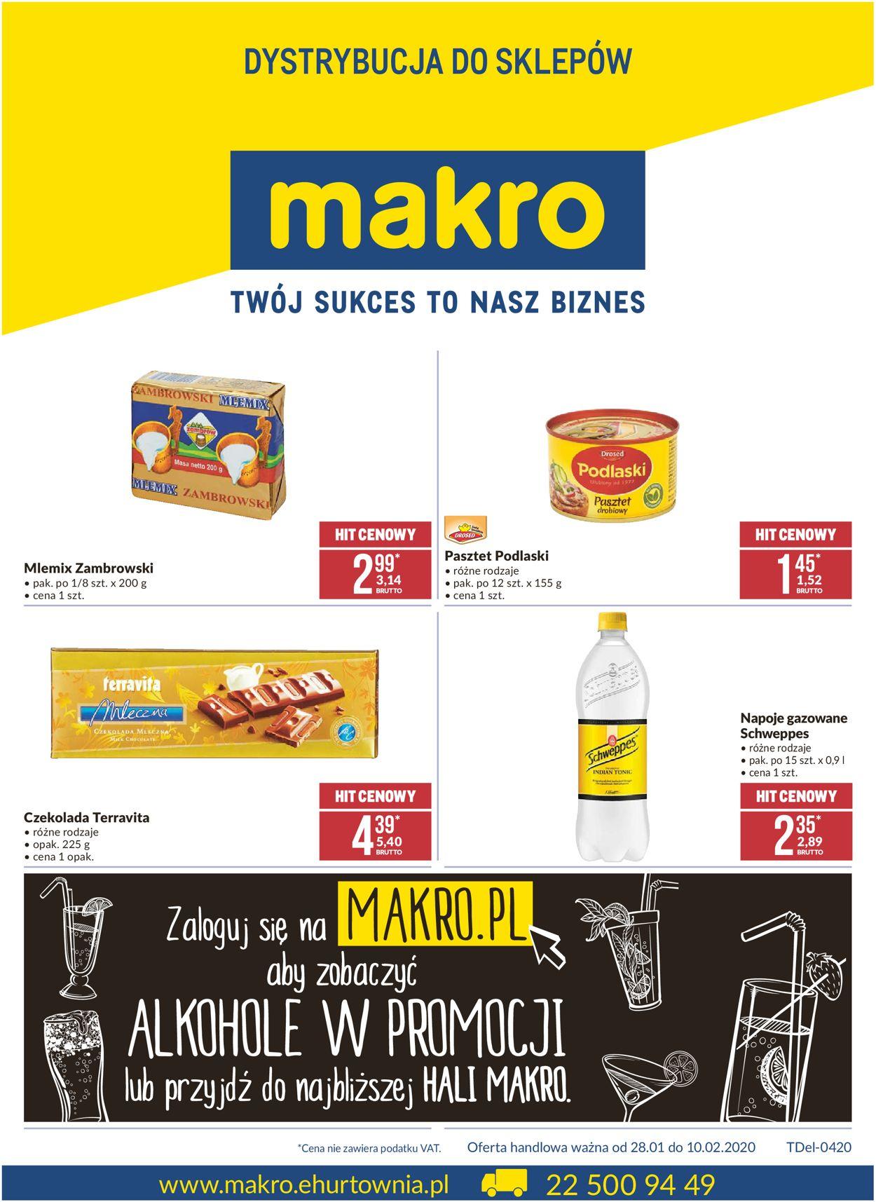 Gazetka promocyjna Makro - 28.01-10.02.2020