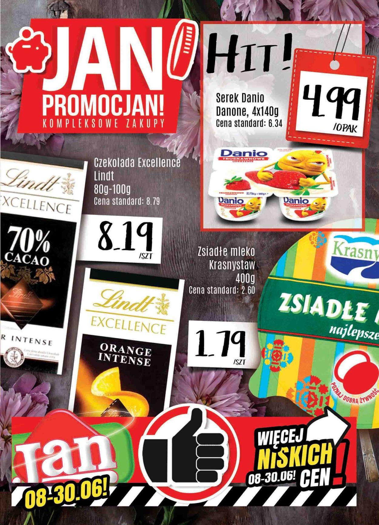 Gazetka promocyjna Market Jan - 08.06-30.06.2020