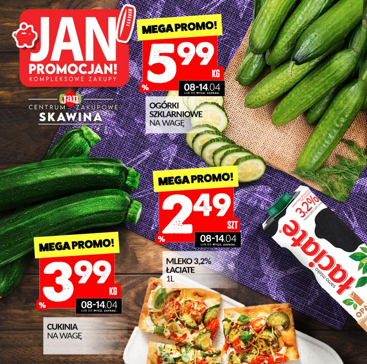 Gazetka promocyjna Market Jan - 08.04-14.04.2021