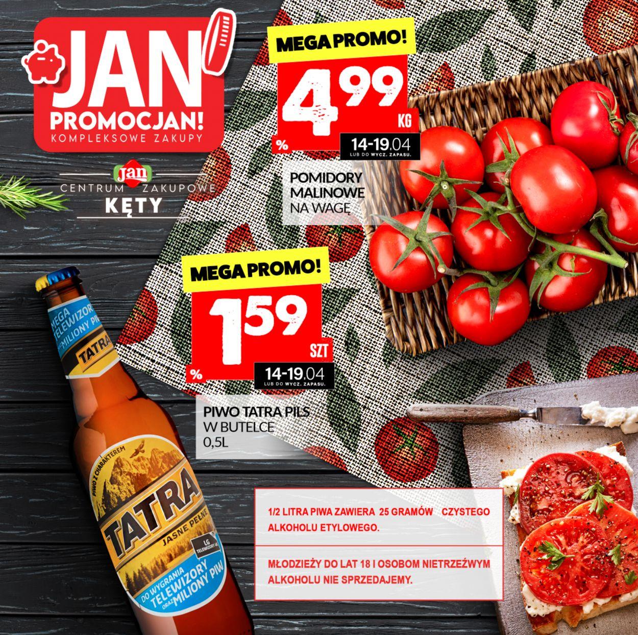 Gazetka promocyjna Market Jan - 14.04-19.04.2021
