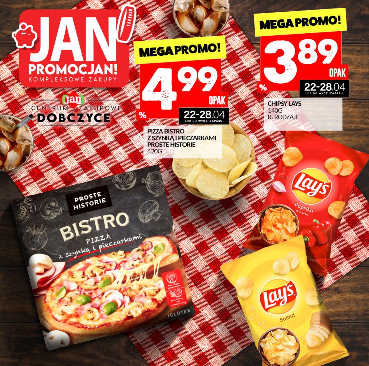 Gazetka promocyjna Market Jan - 22.04-28.04.2021