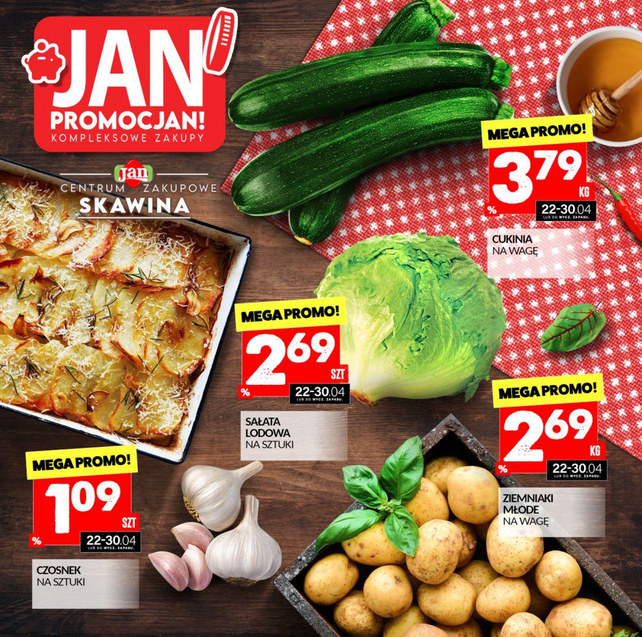 Gazetka promocyjna Market Jan - 22.04-30.04.2021
