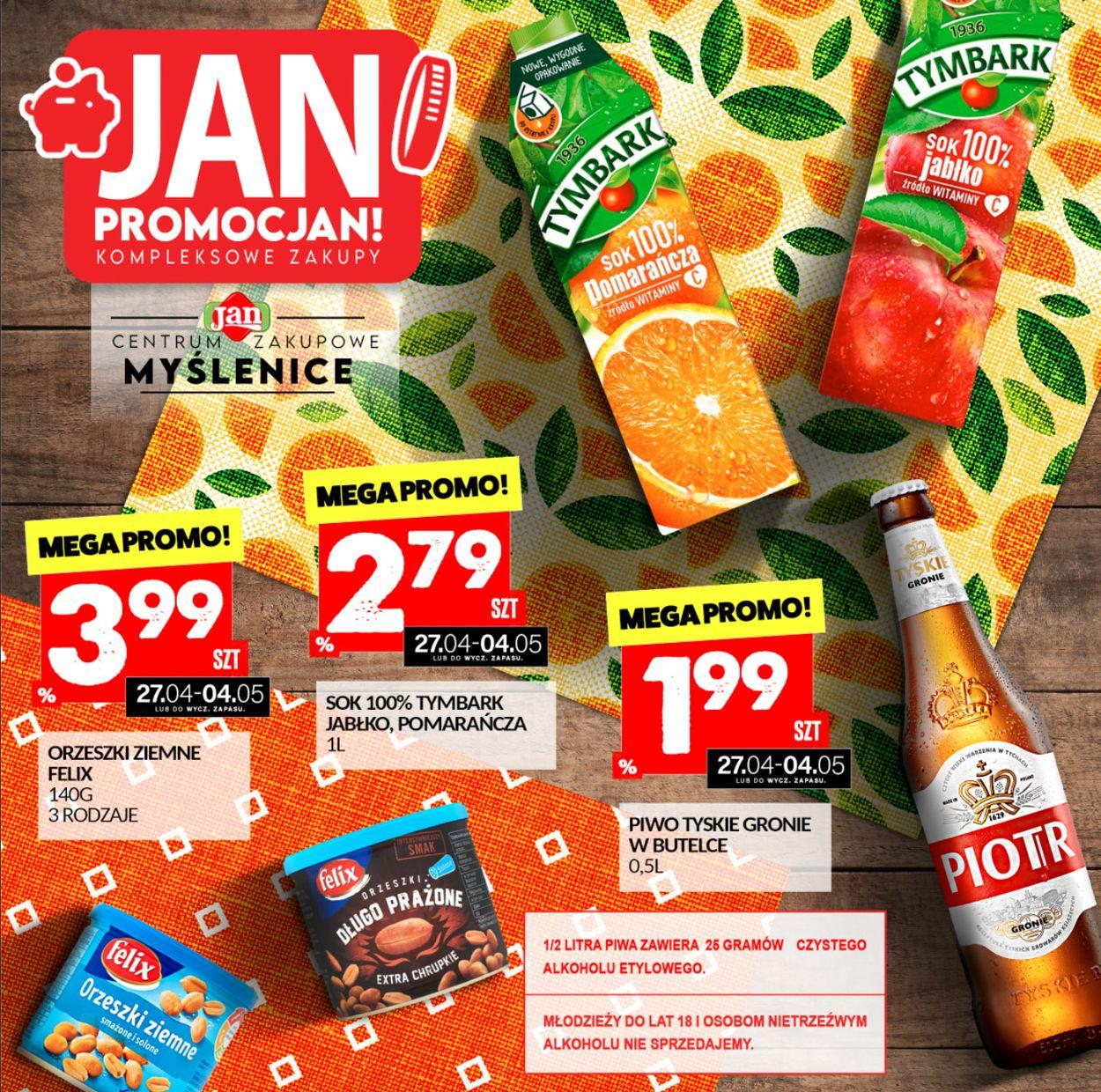 Gazetka promocyjna Market Jan - 27.04-04.05.2021
