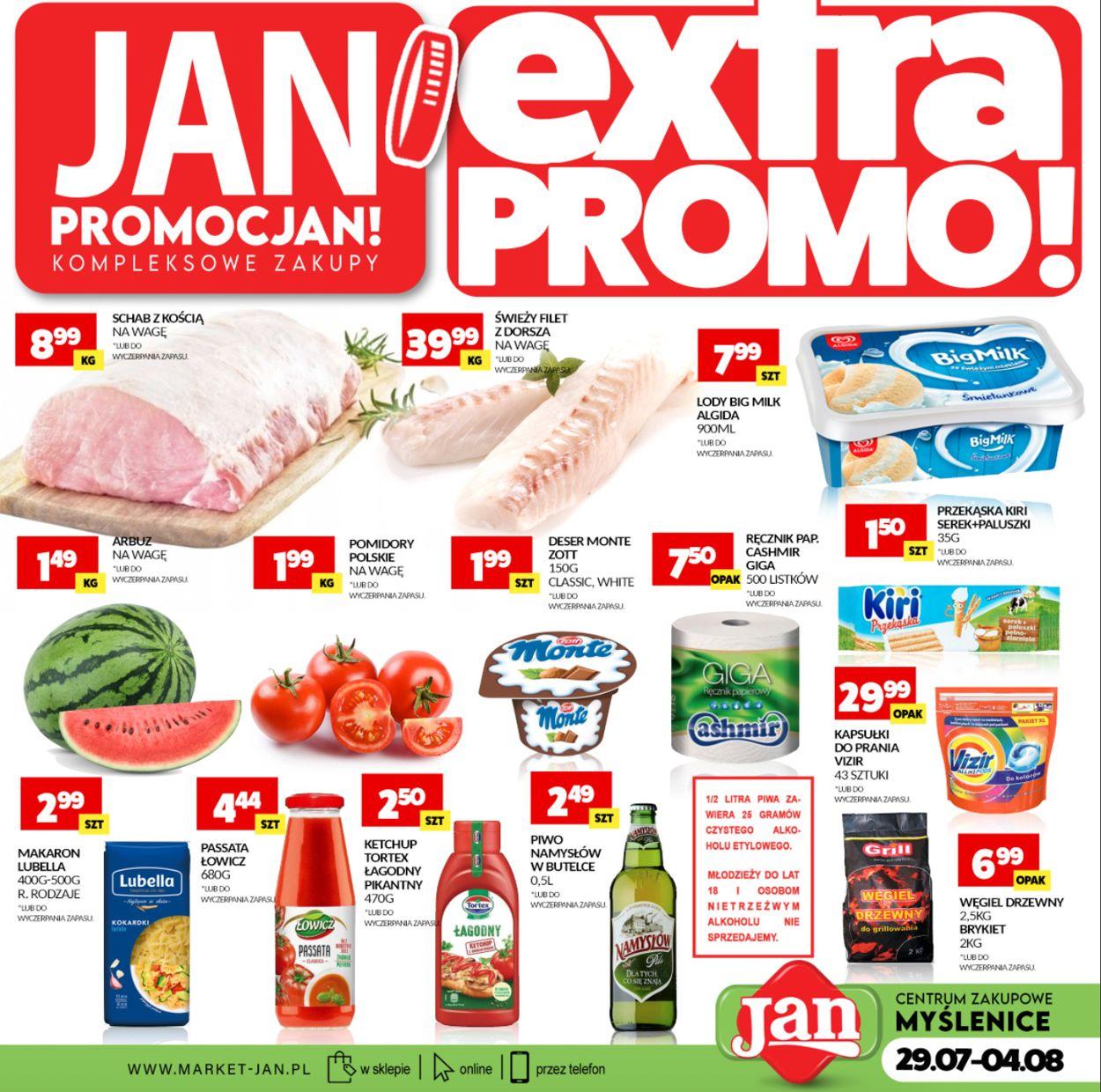 Gazetka promocyjna Market Jan - 29.07-04.08.2021 (Strona 4)