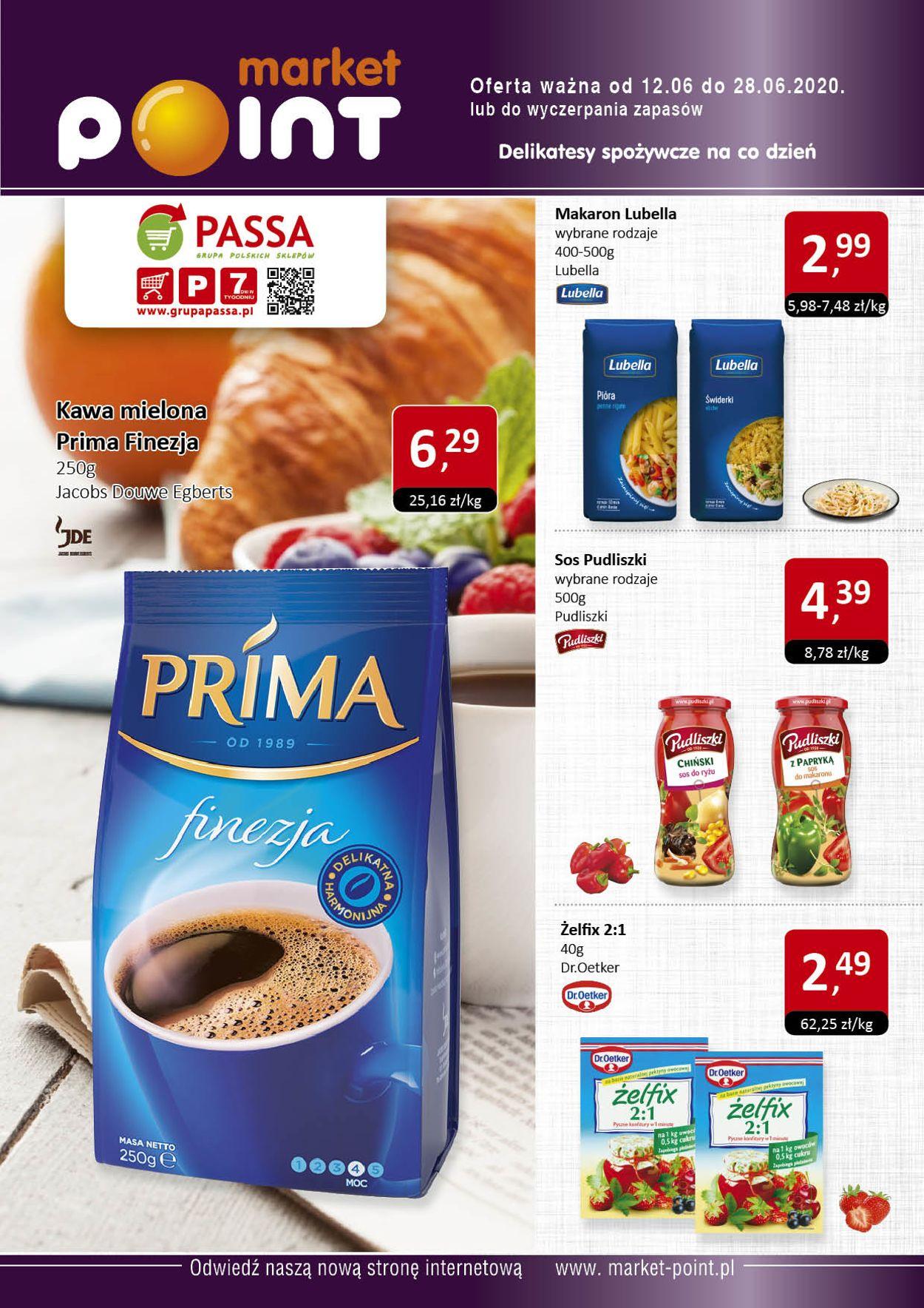 Gazetka promocyjna Market Point - 12.06-28.06.2020