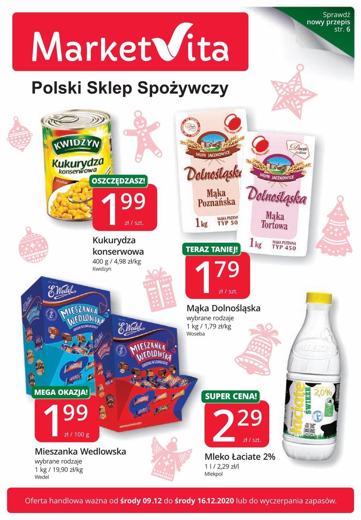 Gazetka promocyjna MarketVita Gazetka Świąteczna 2020 - 09.12-16.12.2020