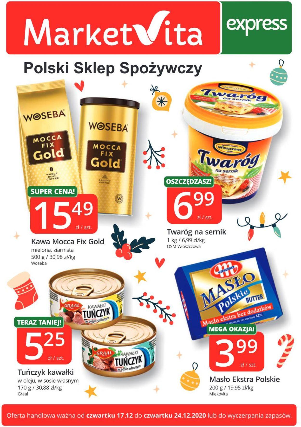 Gazetka promocyjna MarketVita - 17.12-24.12.2020