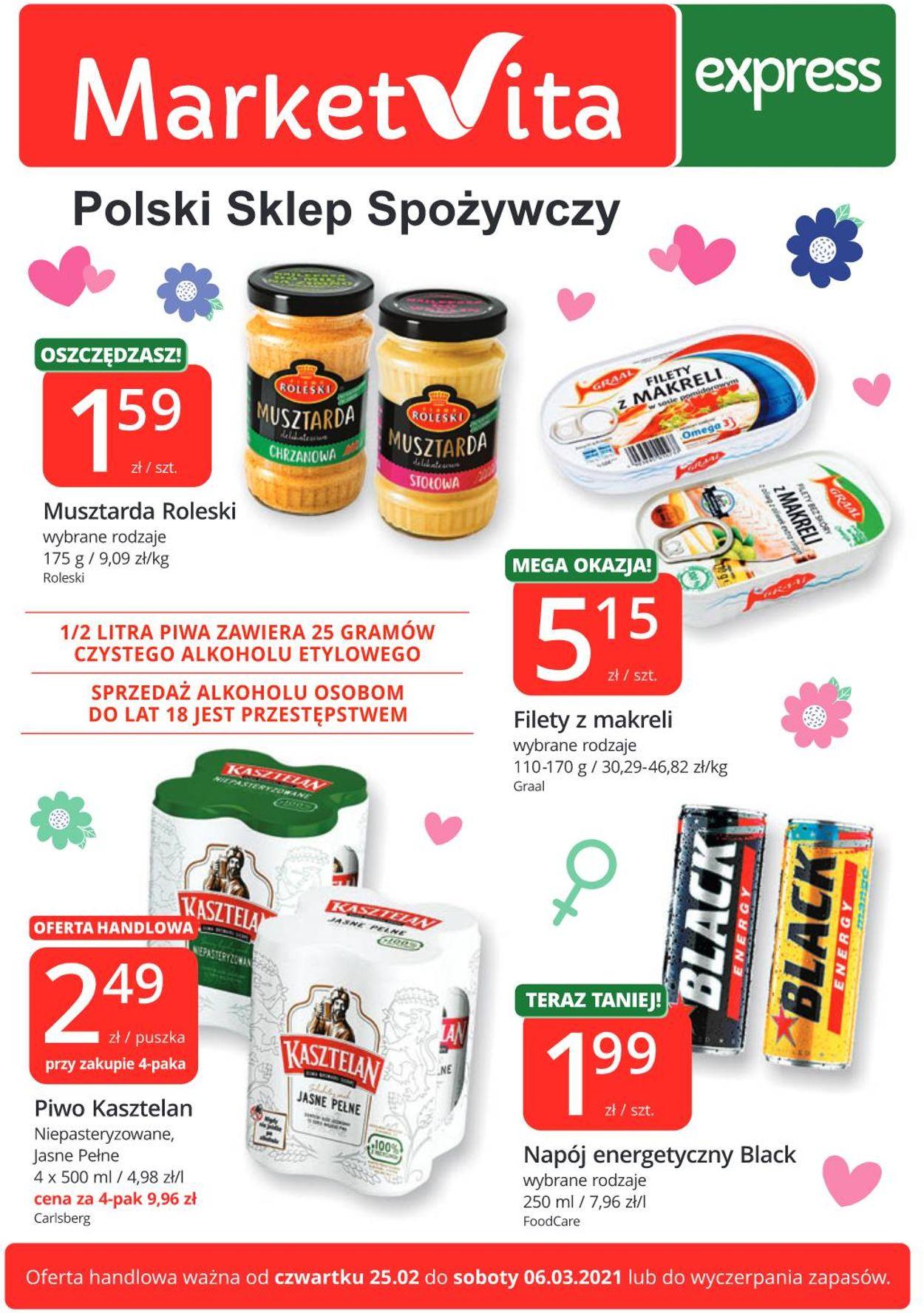 Gazetka promocyjna MarketVita - 25.02-06.03.2021