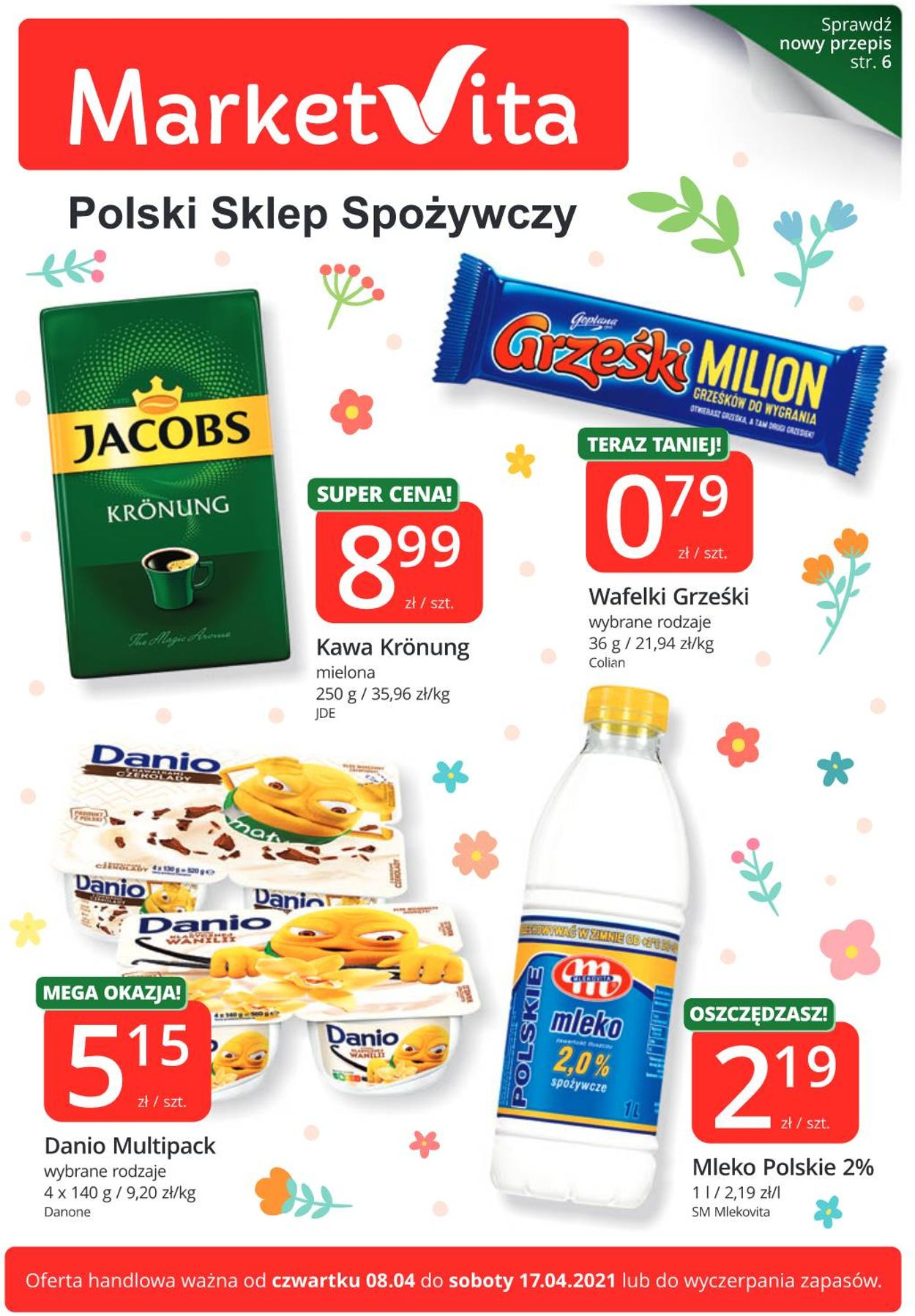 Gazetka promocyjna MarketVita - 08.04-17.04.2021
