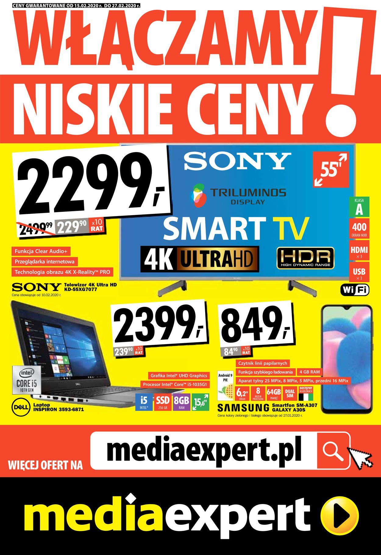 Gazetka promocyjna Media Expert - 15.02-27.02.2020
