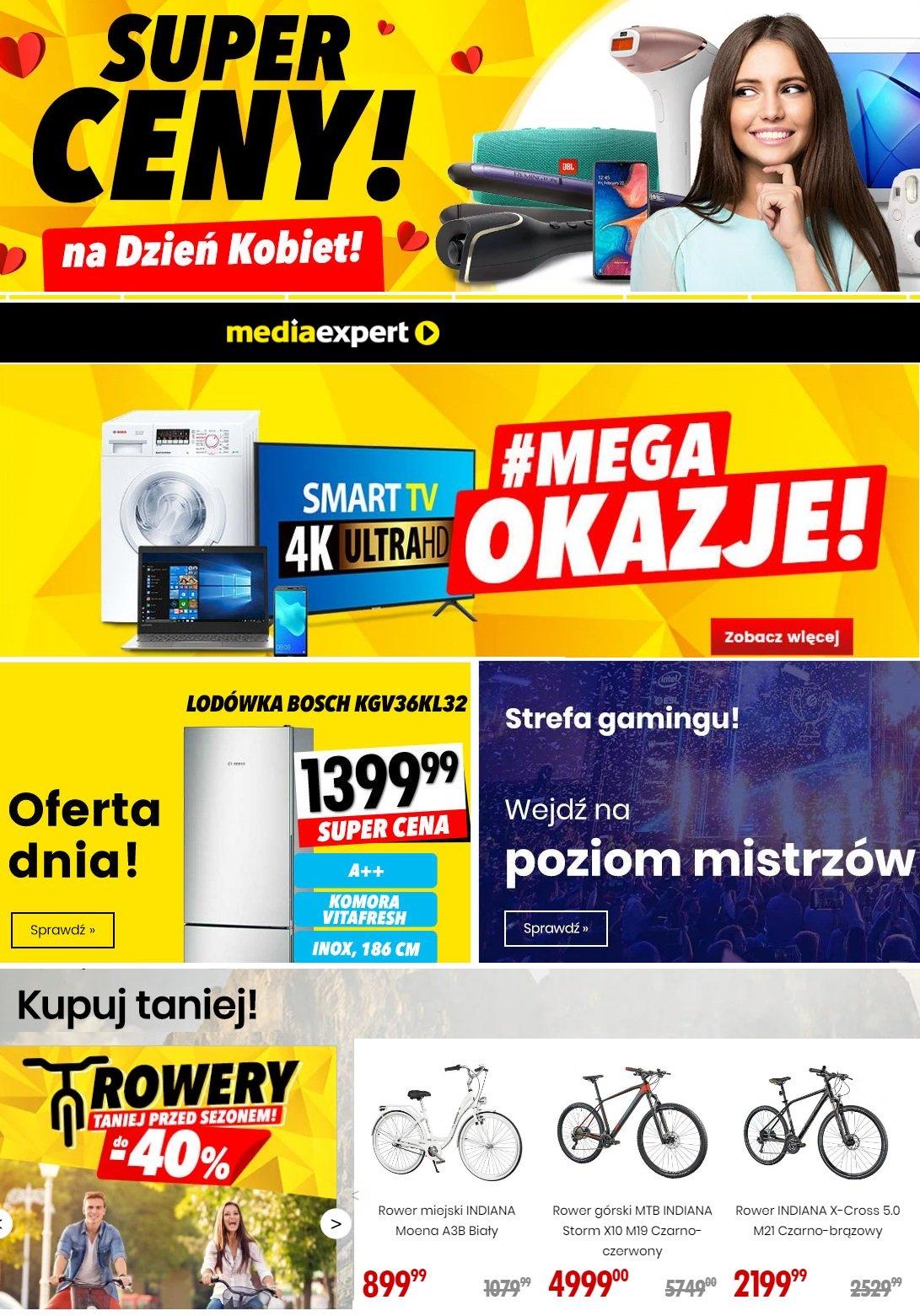 Gazetka promocyjna Media Exeprt - 03.03-09.03.2020