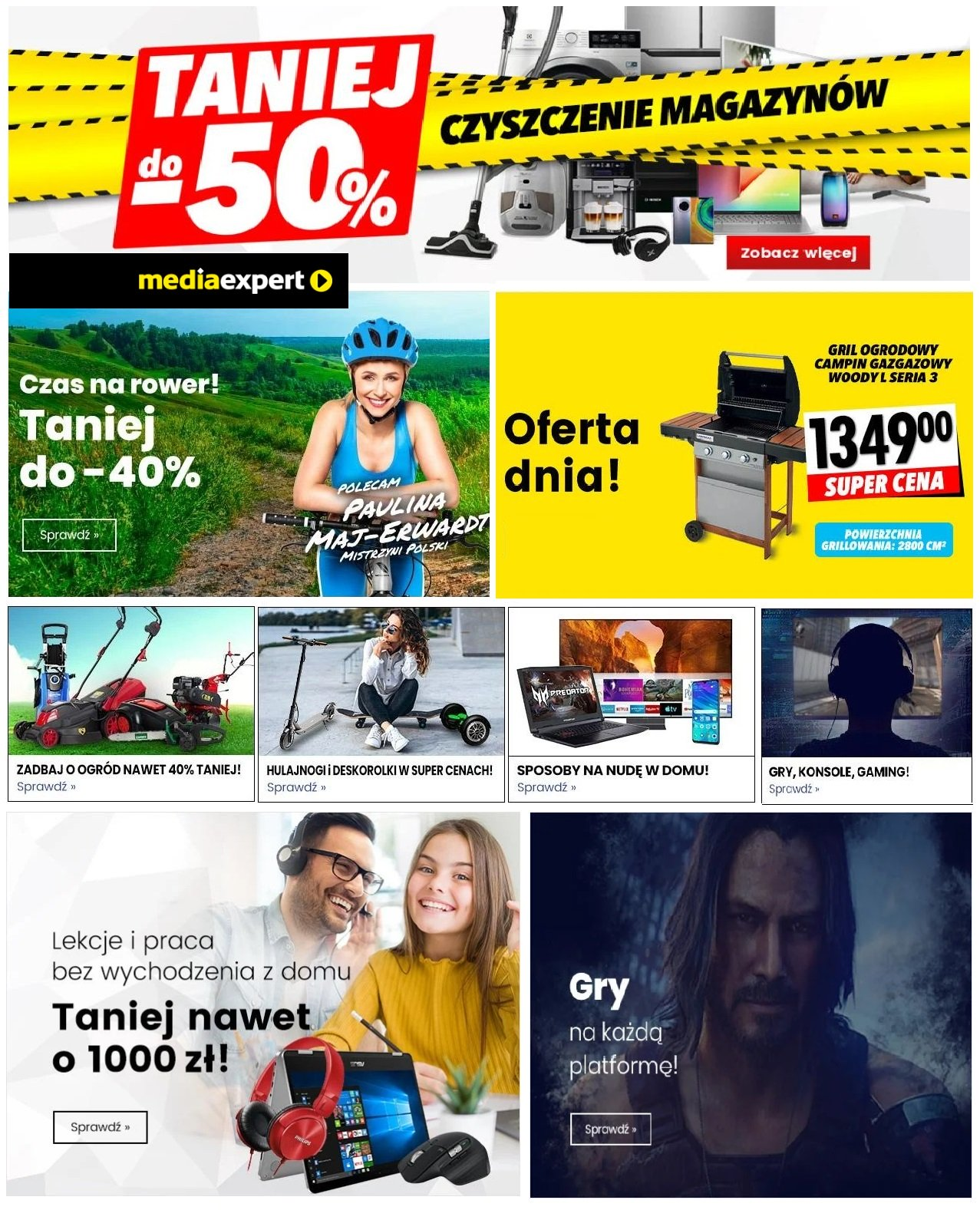 Gazetka promocyjna Media Expert - 30.04-07.05.2020