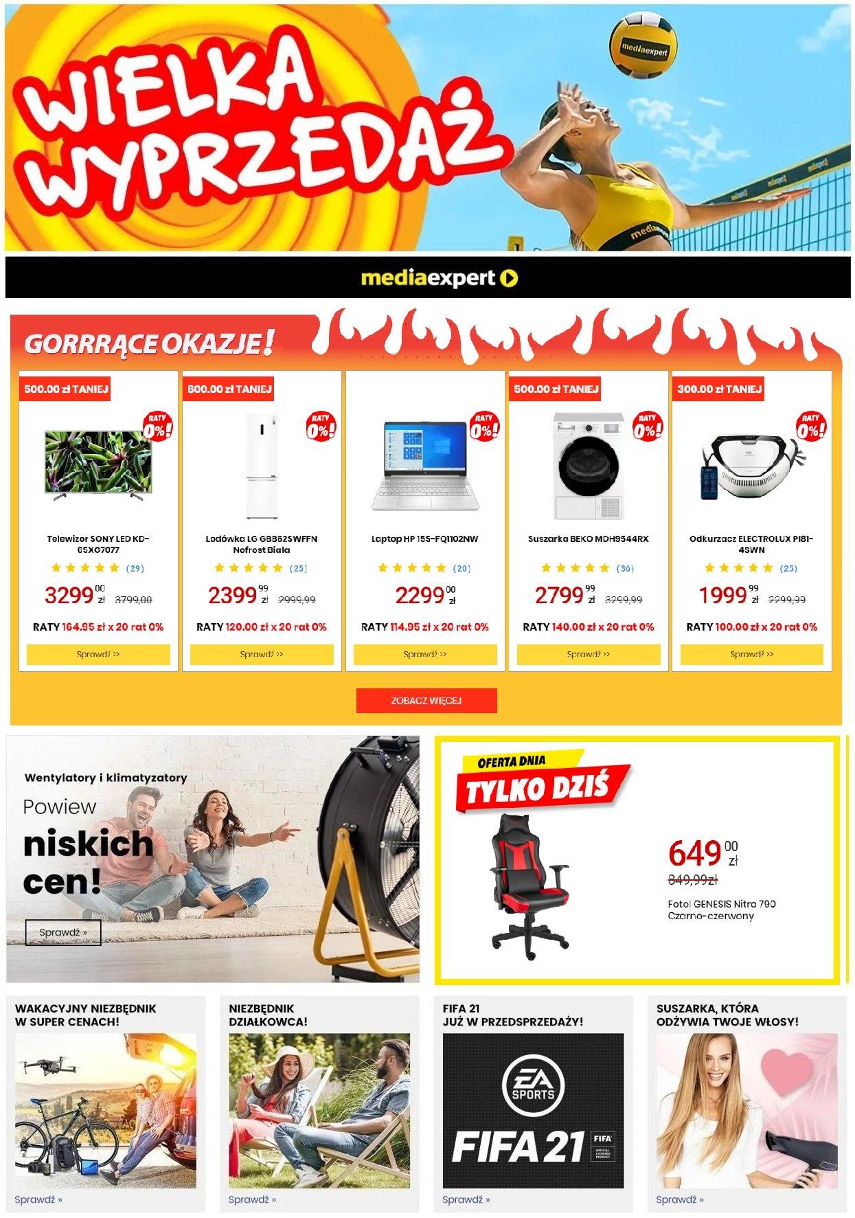 Gazetka promocyjna Media Expert - 08.07-14.07.2020
