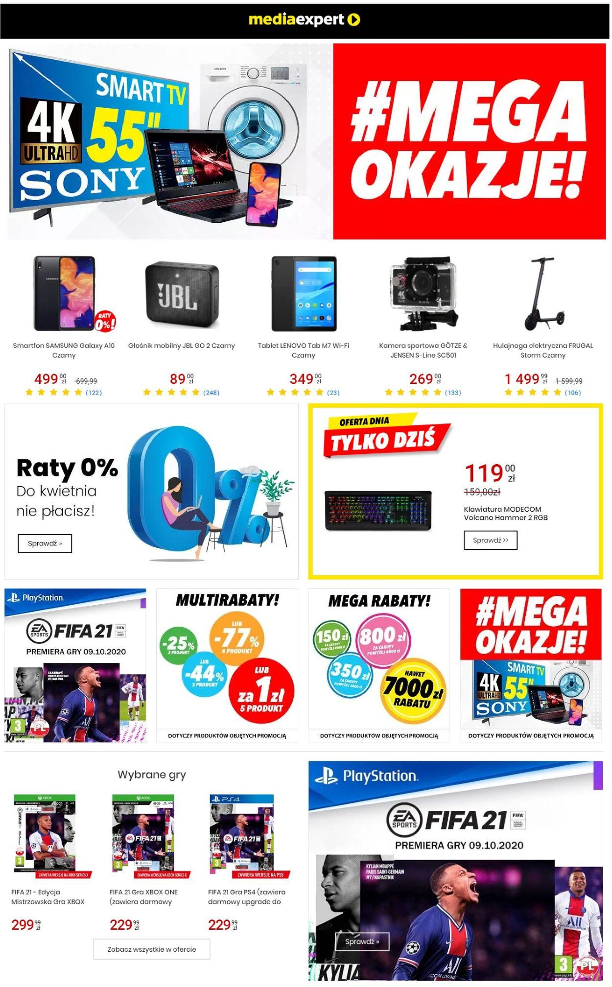 Gazetka promocyjna Media Expert - 07.10-13.10.2020