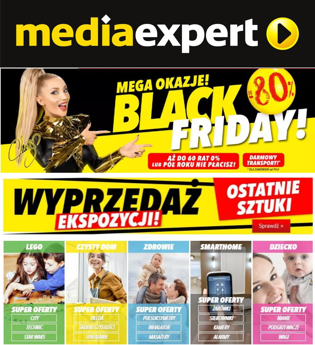 Gazetka promocyjna Media Expert Black Friday 2020 - 24.11-01.12.2020